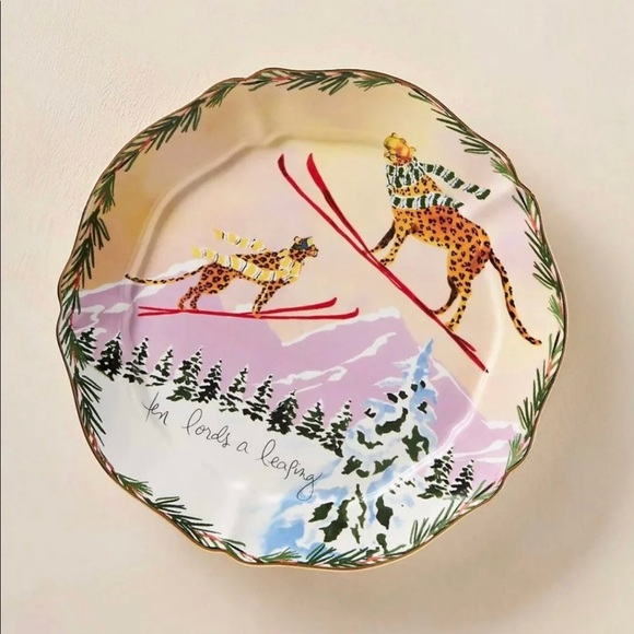 Anthropologie Dining Anthropologie 2 Days Ten Lords A Leaping Plate Poshmark